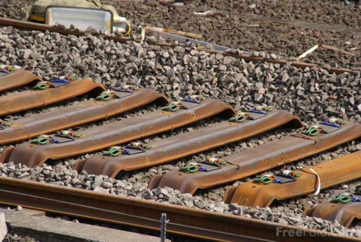 Steel Railway Sleepers