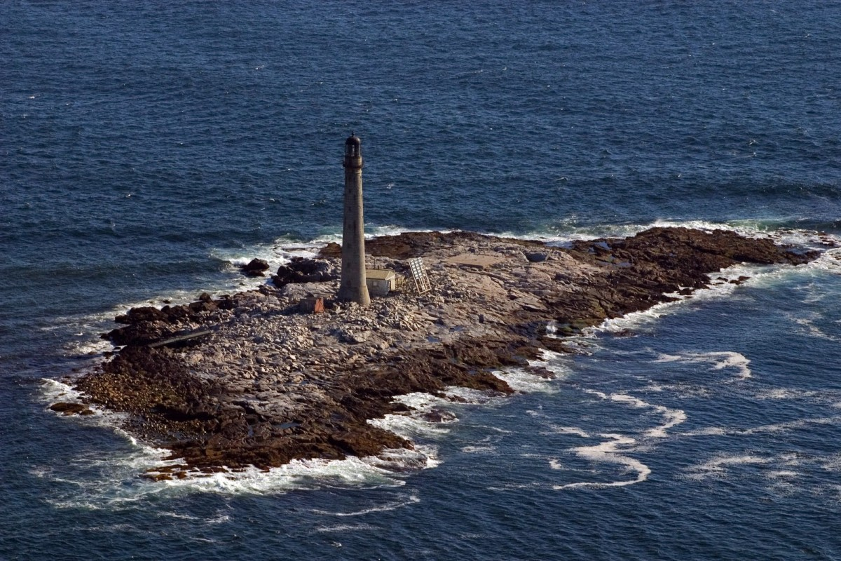Boon Island is a small island off the coast of Maine with nothing but a lonely lighthouse.