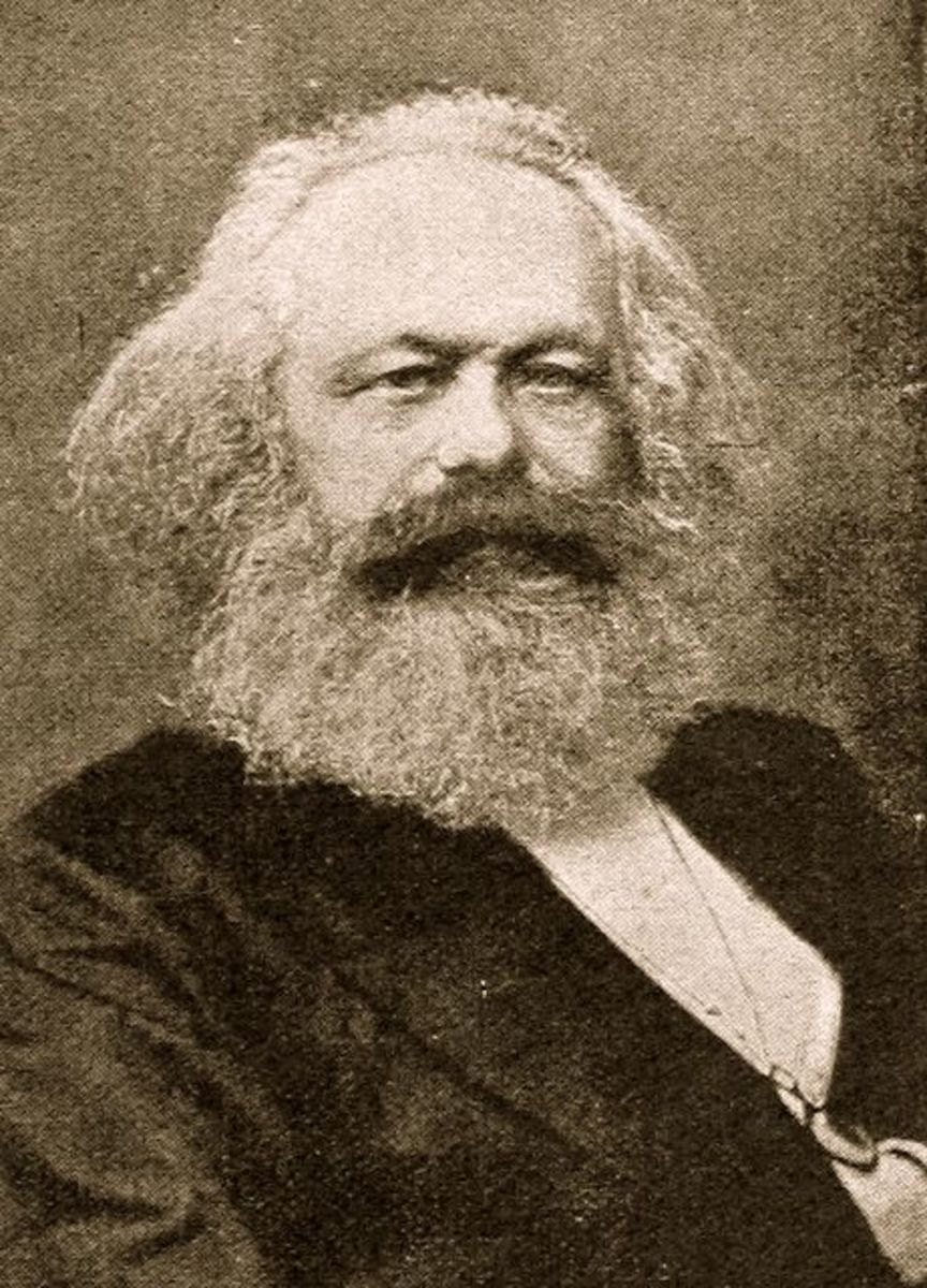 """THE FATHER OF THE LABOR UNION MOVEMENT: """"WORKERS OF THE WORLD UNITE!"""" KARL MARX"""