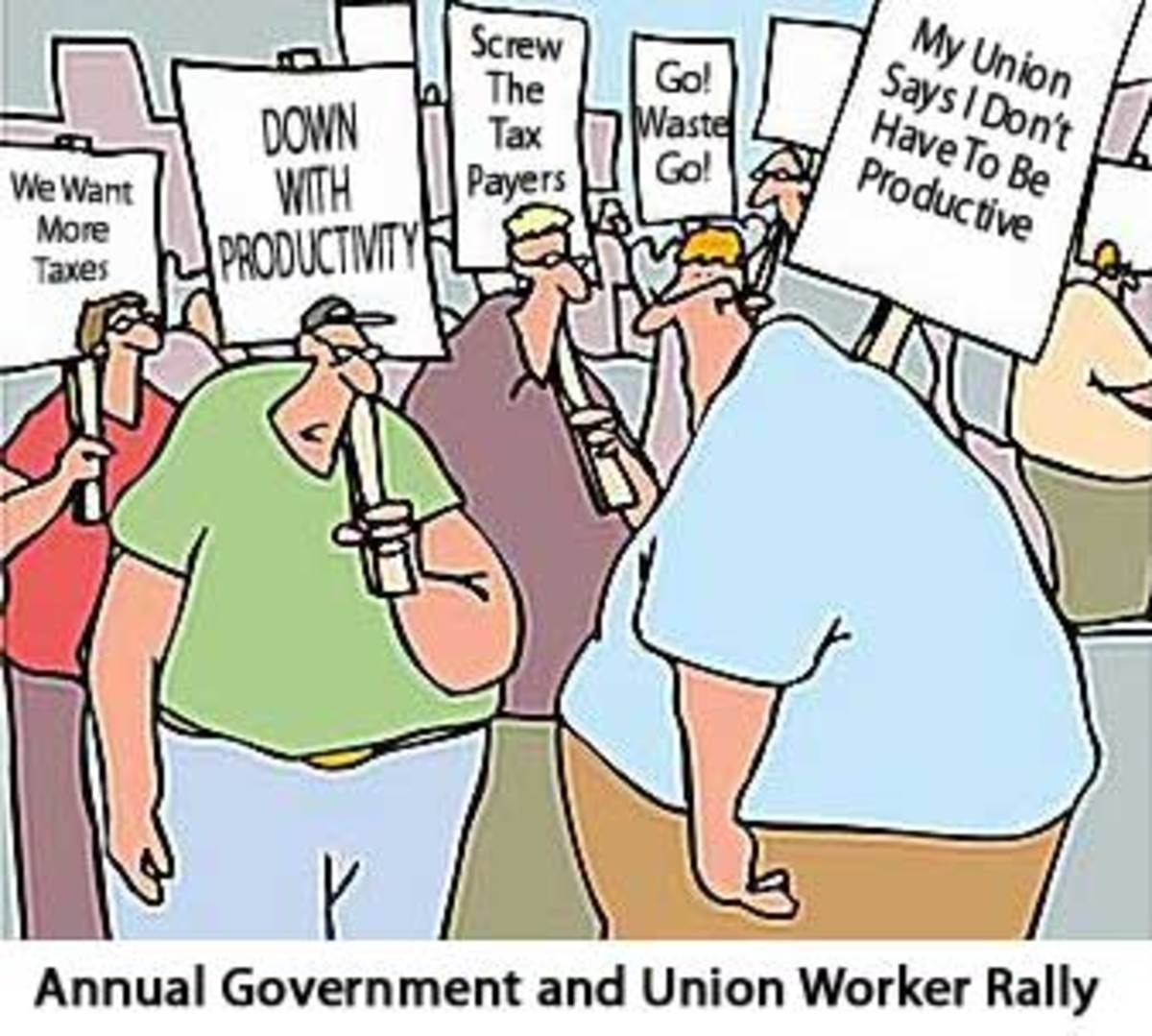 TYPICAL ATTITUDE OF UNION MEMBERS
