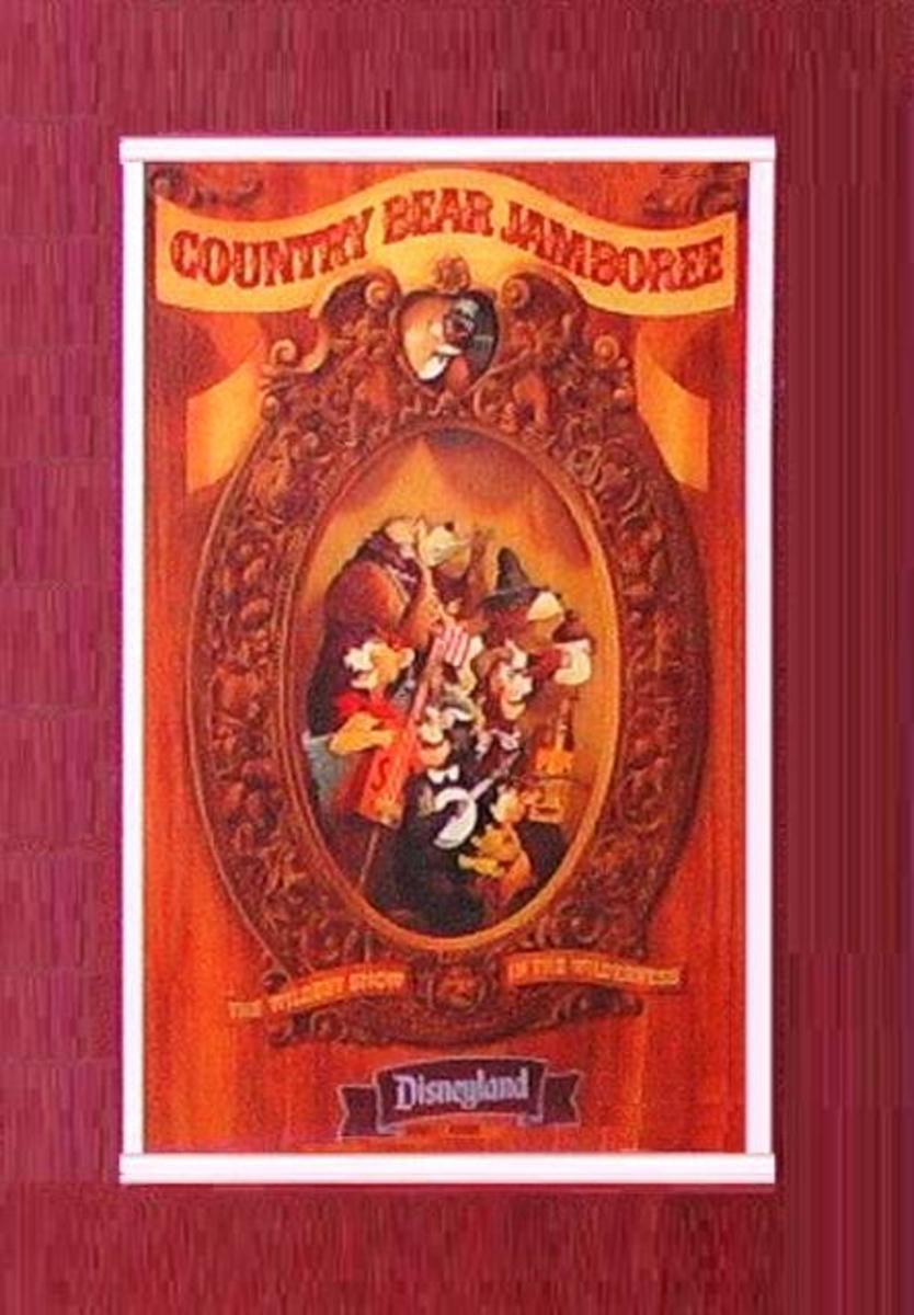 Country Bear Jamboree Poster