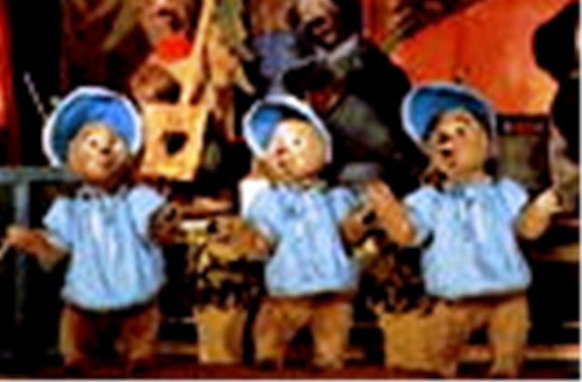 The Sun Bonnet Trio  Bubbles, Bunny, Beulah
