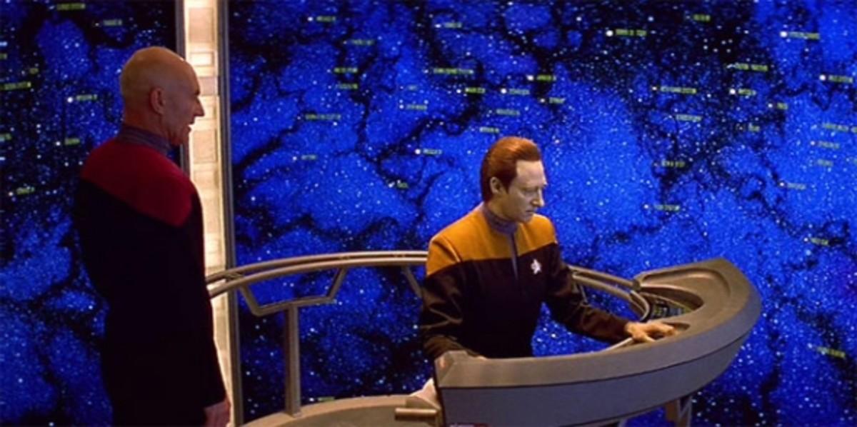 Stellar Cartography - Star Trek Generations