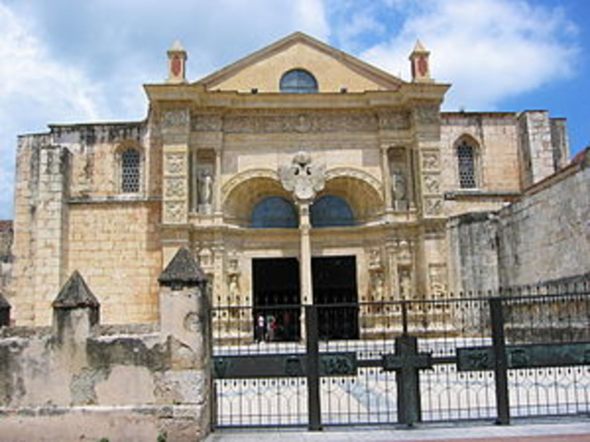 Oldest cathedral in the Americas