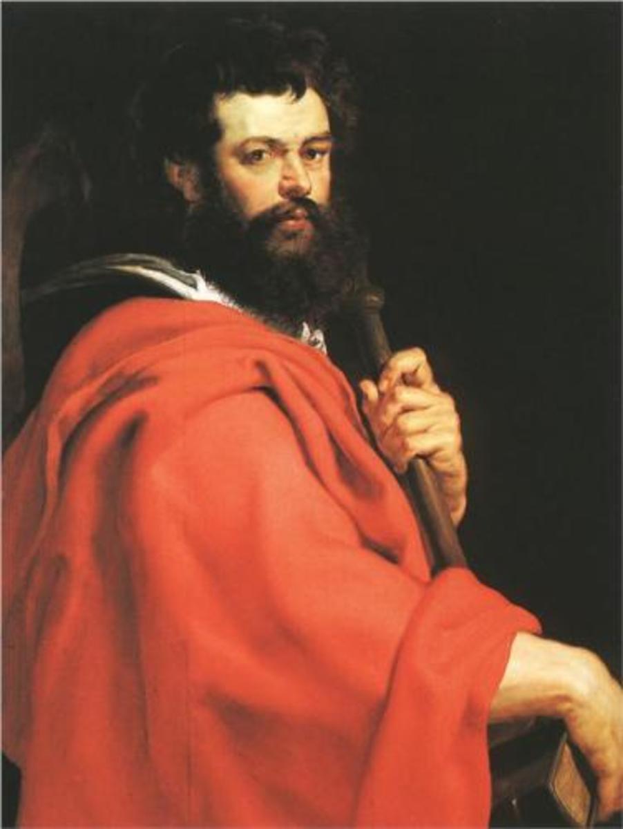 St James the Apostle, Peter Paul Rubens (1577-1640)