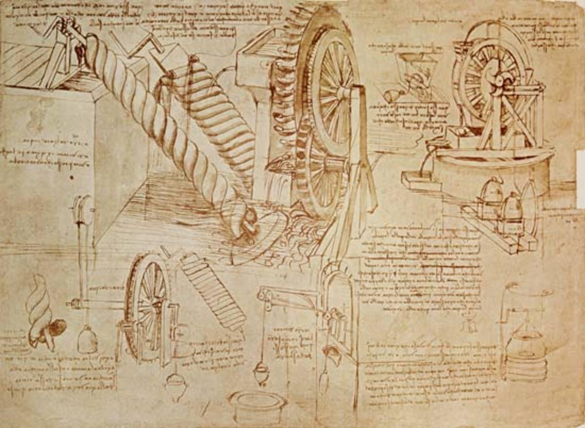 Da Vinci codex- A facsimile