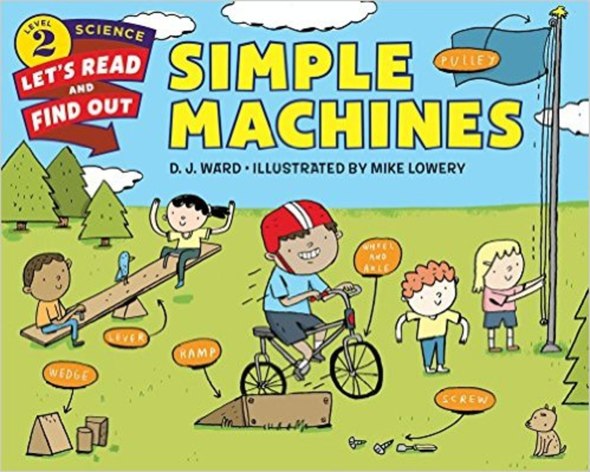 Simple Machines (Let's-Read-and-Find-Out Science 2) by D. J. Ward