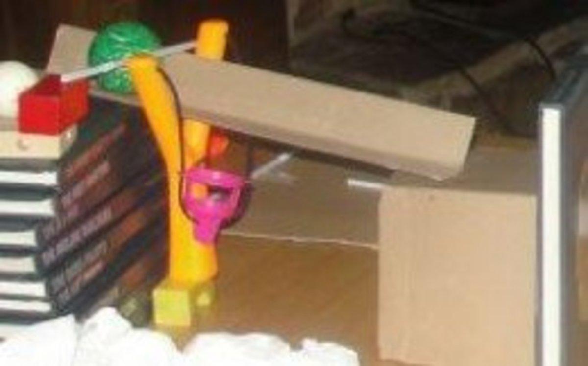 A Rube Goldberg design