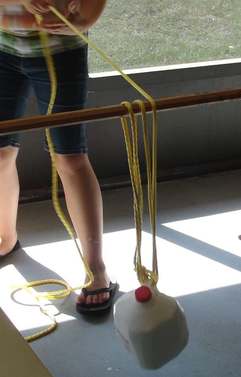 Devising your own pulley system