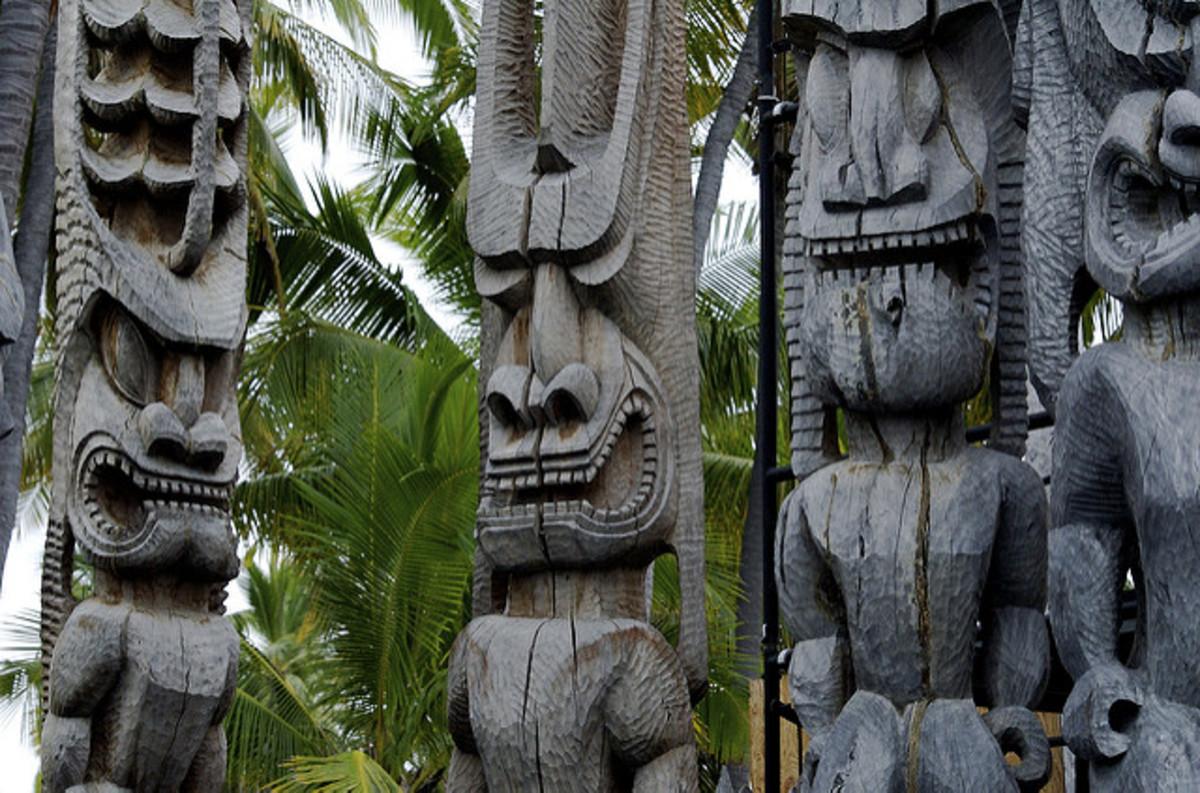 Pu'uhonua o Honaunau National Historic Park, Hawaii
