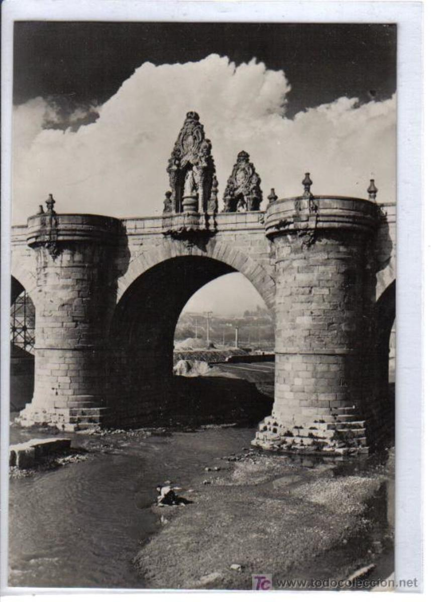 Toledo Bridge back when