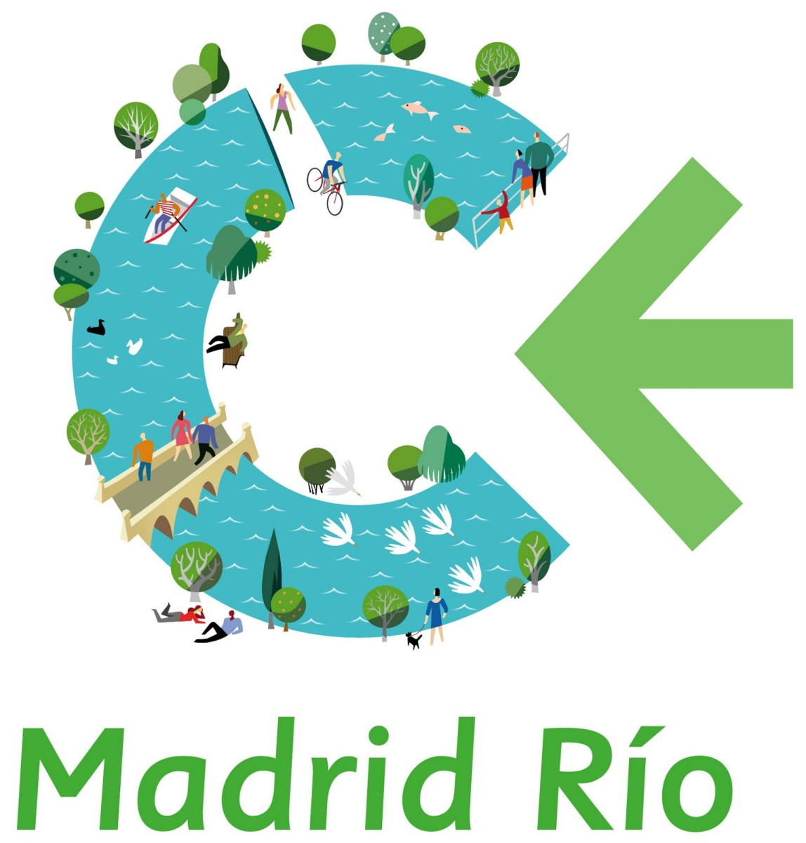Official Madrid Rio Logo
