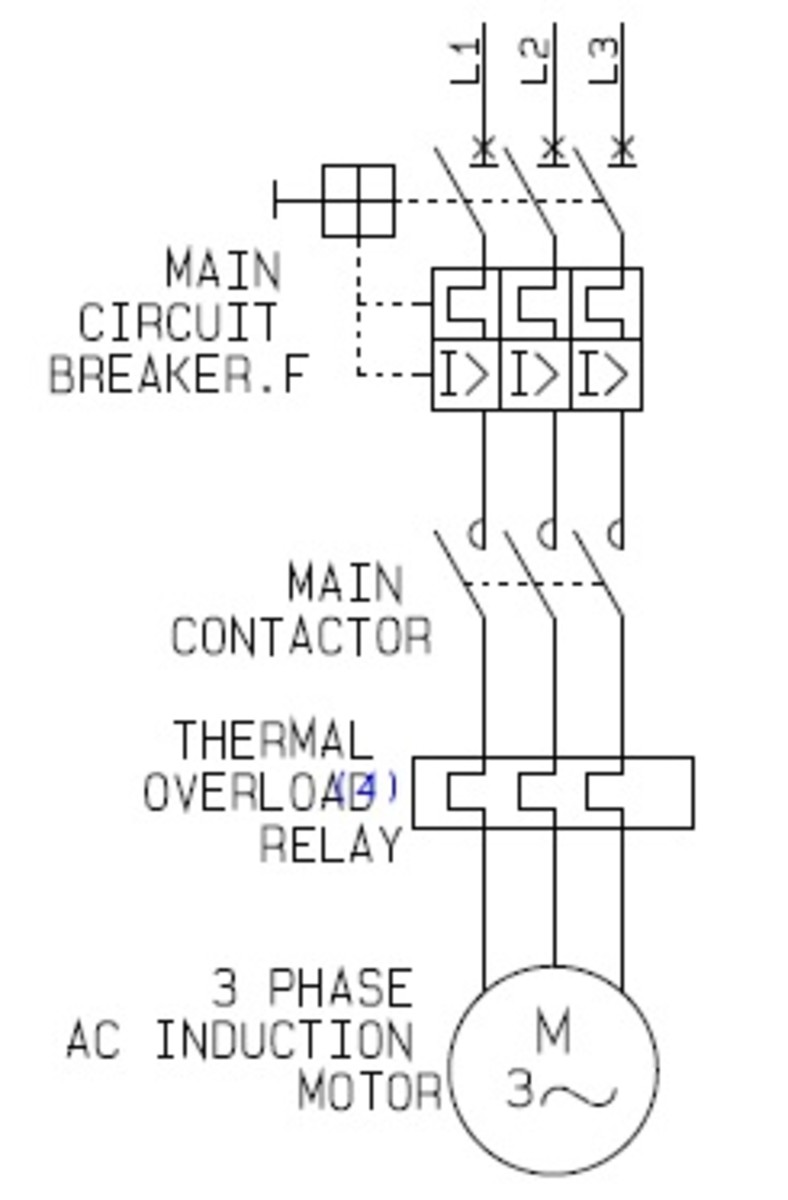 motor control centre wiring diagram with Direct Online Motor Control Circuit Diagram on Wye Delta Electrical Diagram also Delta Motor Wiring moreover 2000 Jeep Cherokee Heater Control together with Drawing A Simple Circuit Diagram To Explain How The Machine Works likewise Rotation Motor Diagram Wiring.