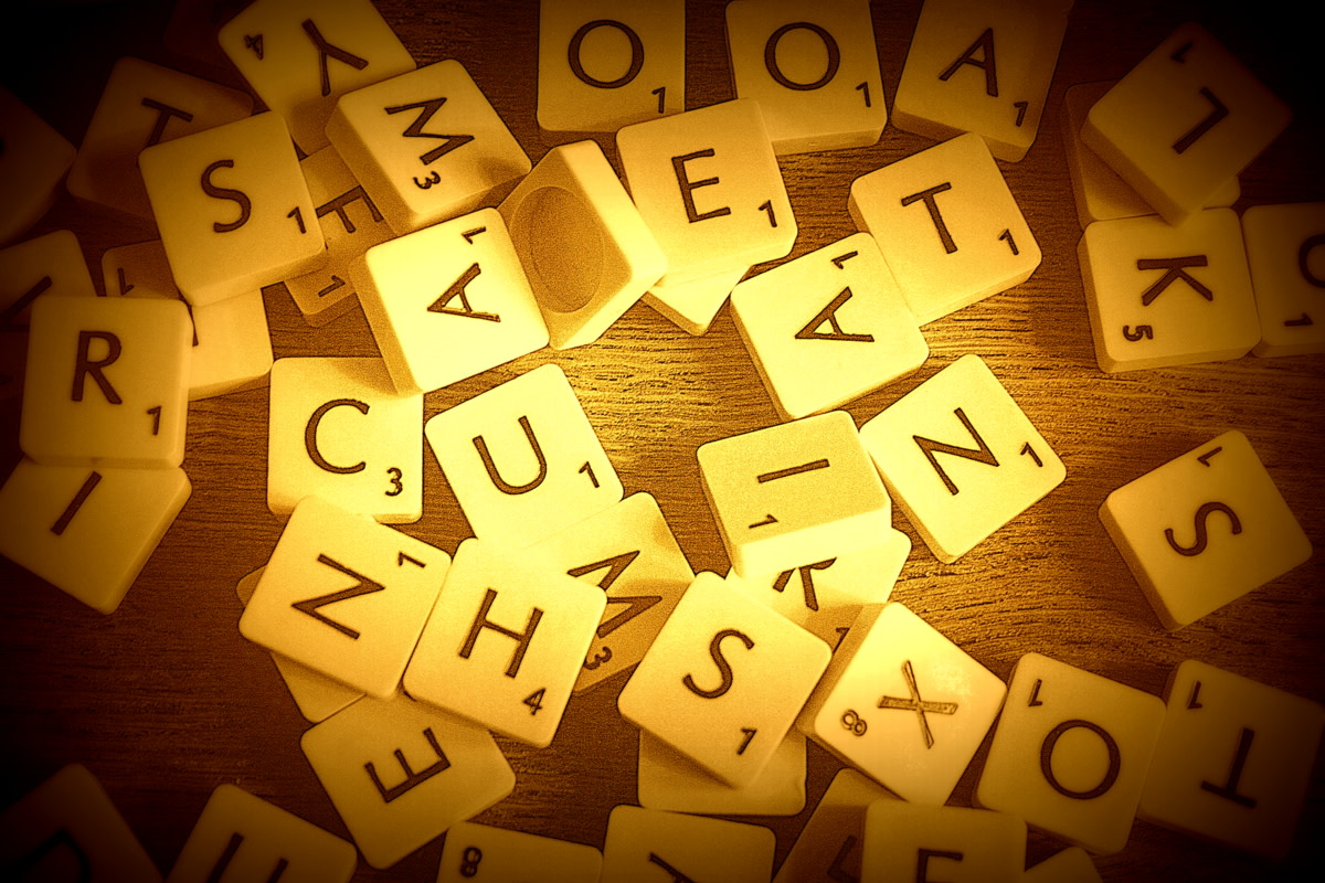 Winning at Scrabble can depend on the letters you get but also involves some clever play.