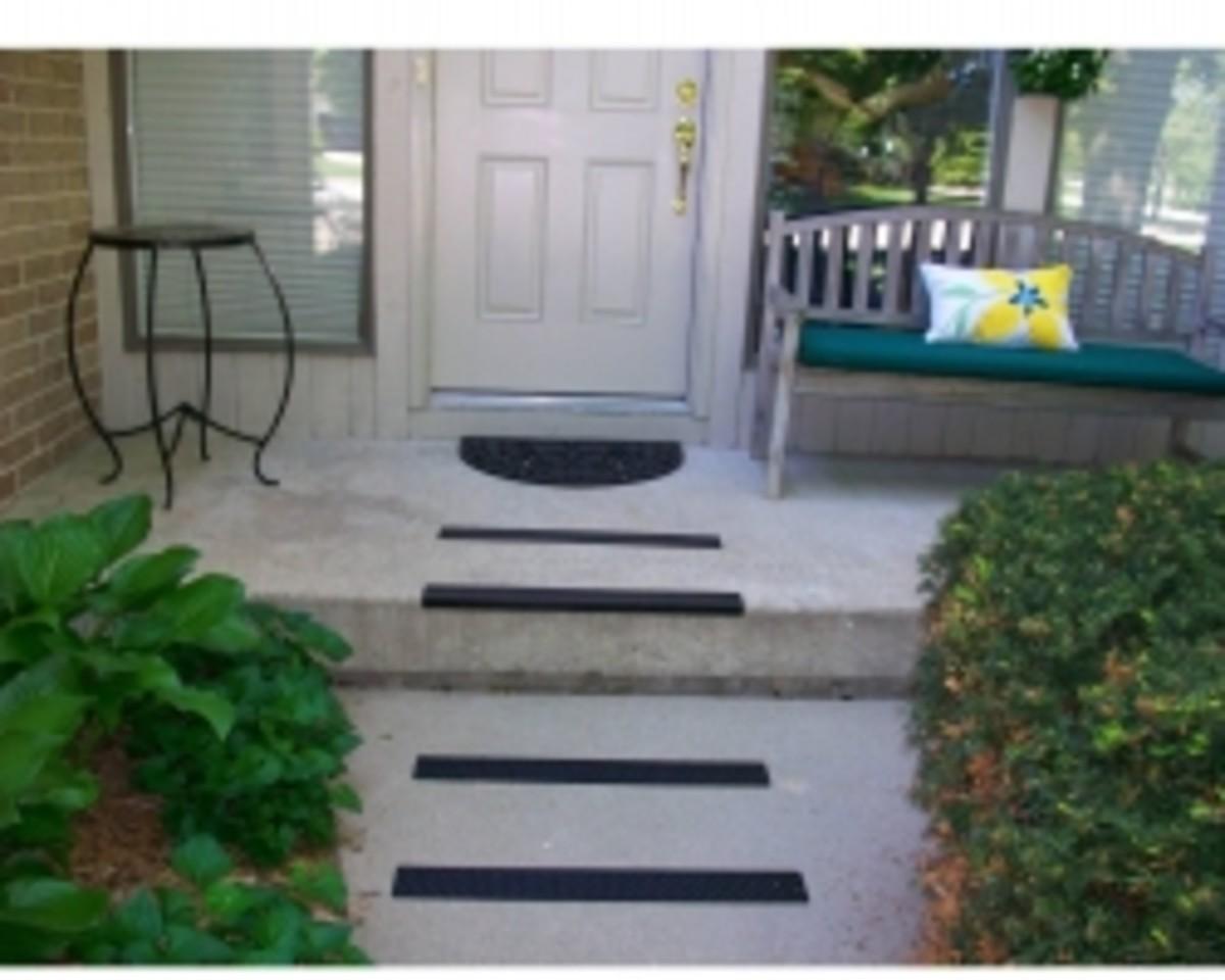 non skid aluminum stair treads