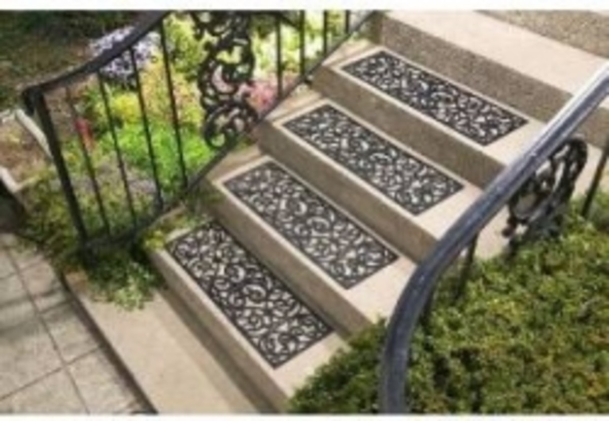 Butterfly stair treads