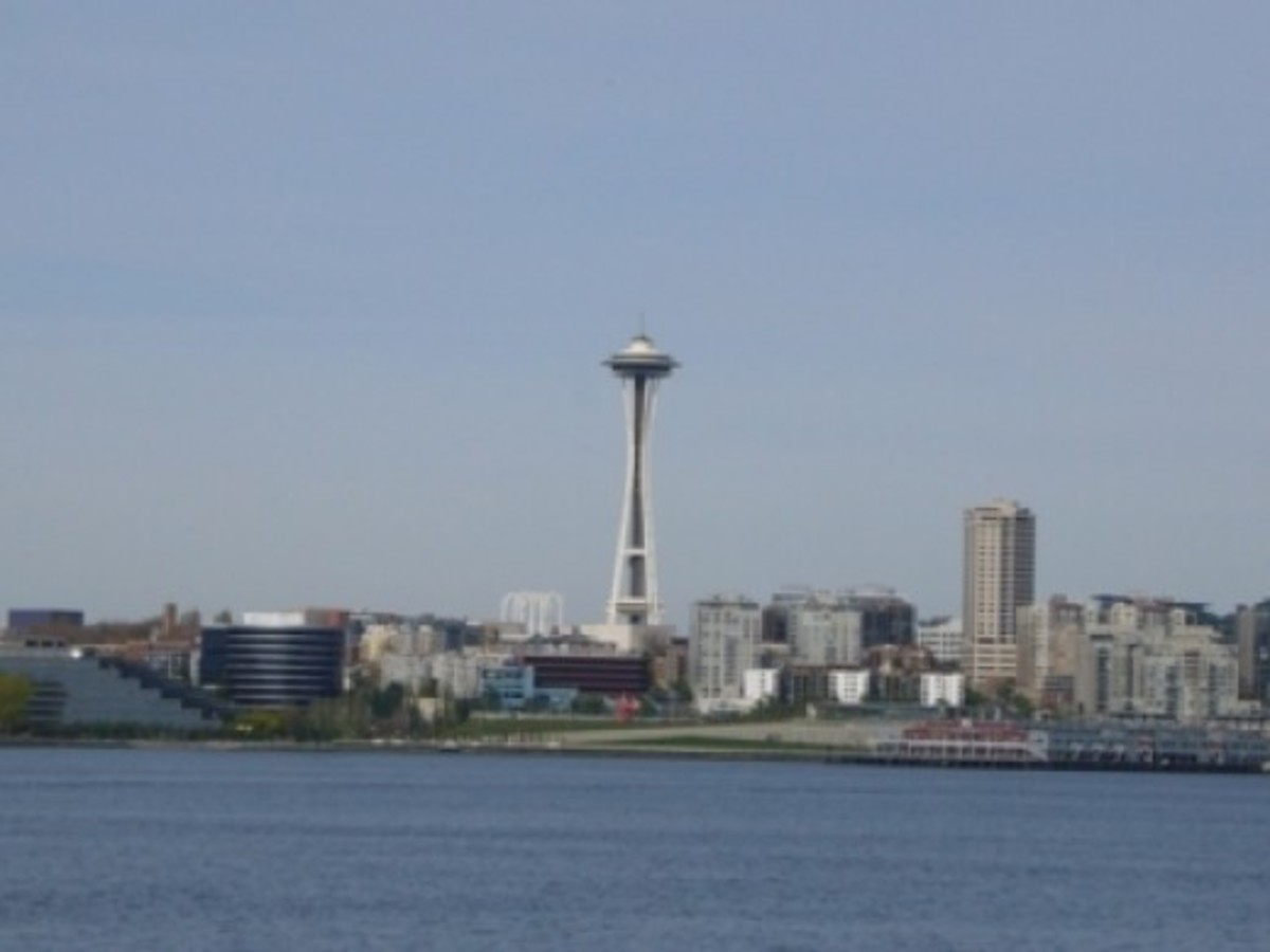 Space Needle and Olympic Sculpture Park