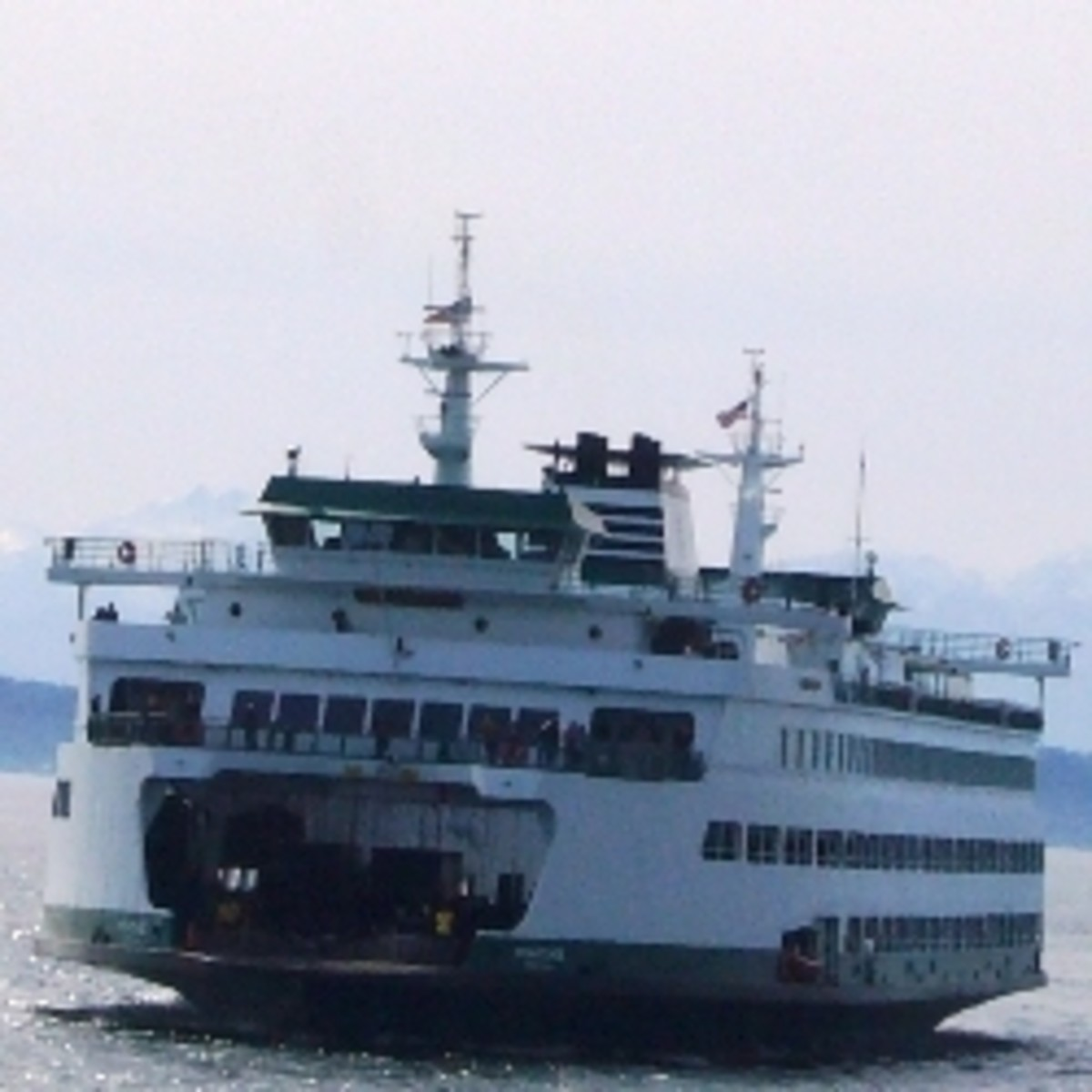 The Seattle to Bainbridge Island Ferry
