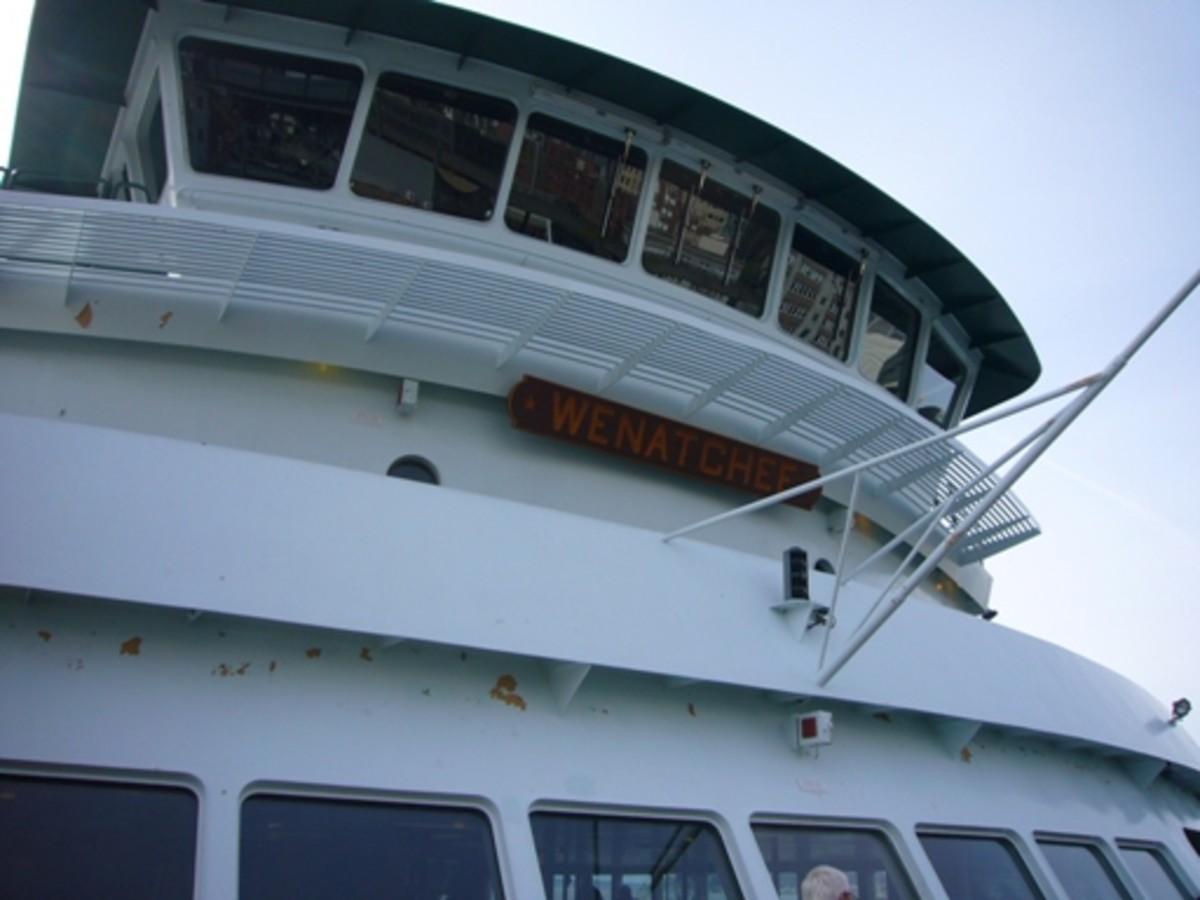 Washington State Ferry Wenatchee