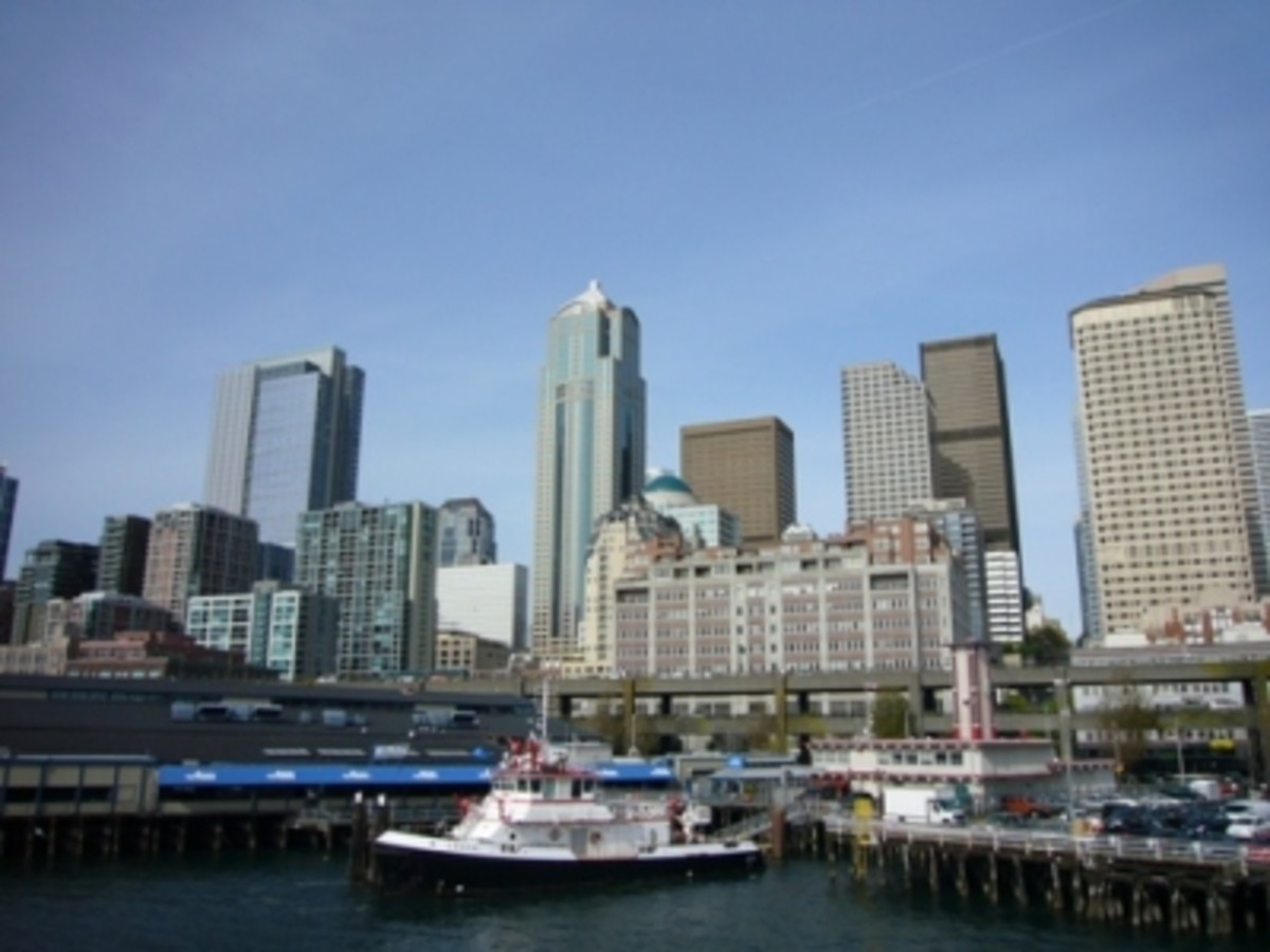 Pier 53 - Seattle Fire Boats