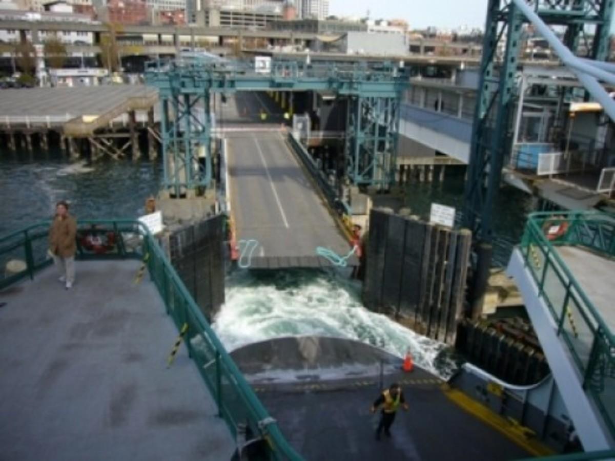 Colman Dock - Seattle WA