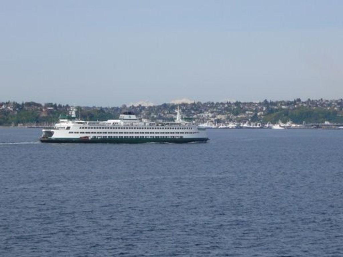 Washington State Ferry Puyallup