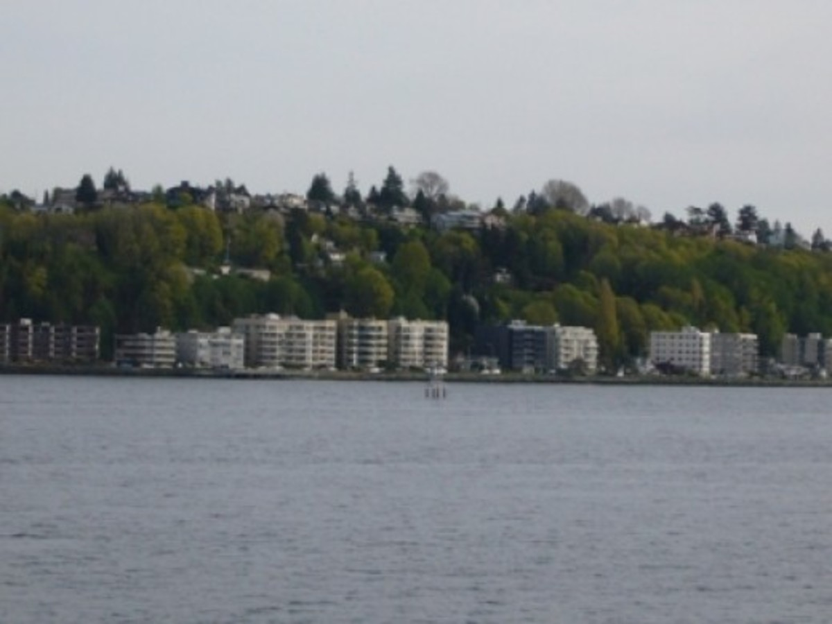 Passing by West Seattle