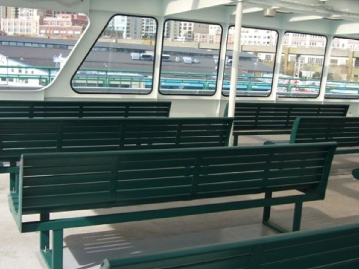 Ferry Wenatchee Upper level Sundeck