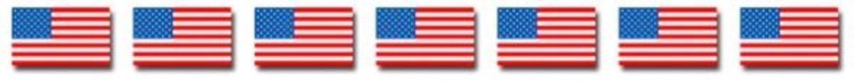 American Flag Clipart Border