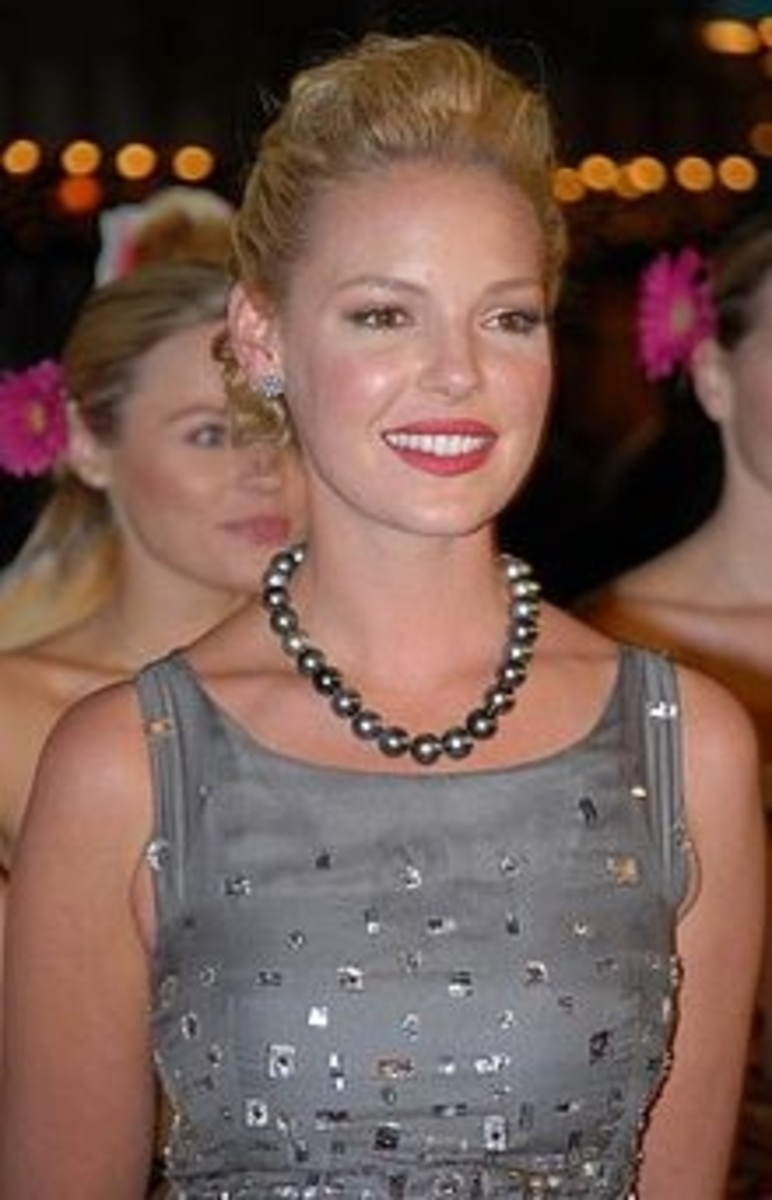 TV and Movie Star Katherine Heigl