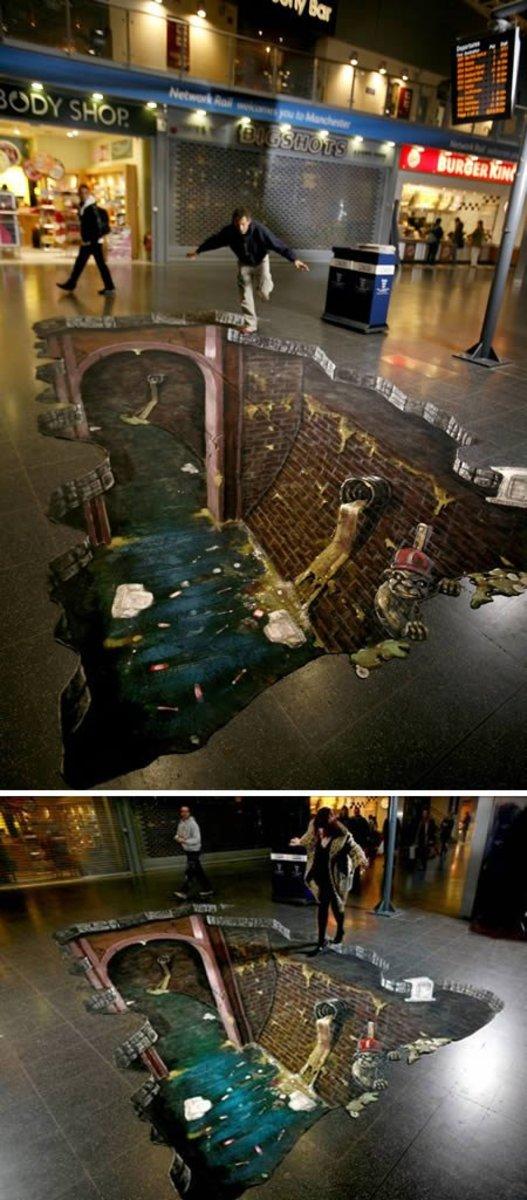 Huge Sewer