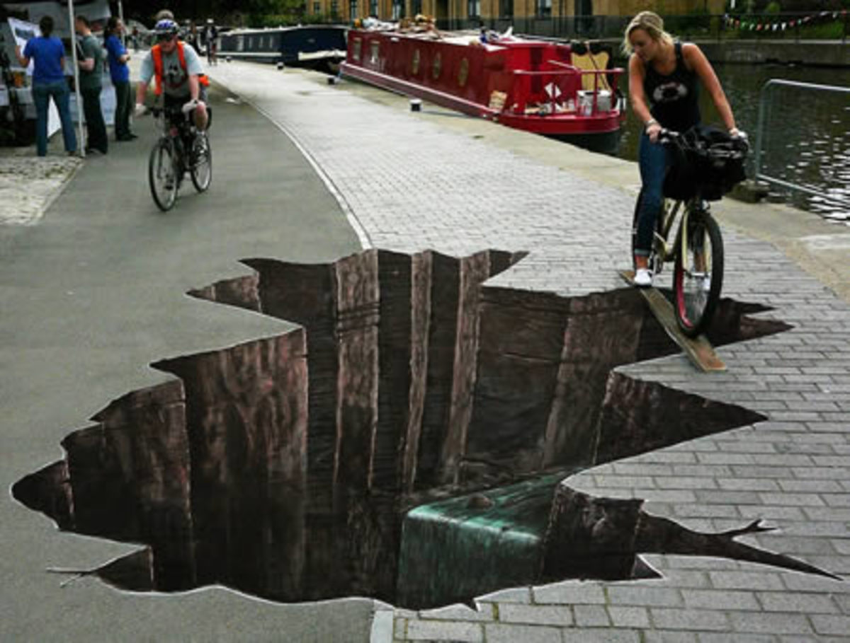 15 Awesome 3D Street Arts