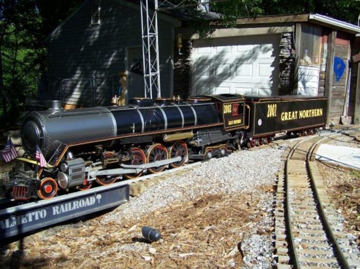 Old Northern Locomotive