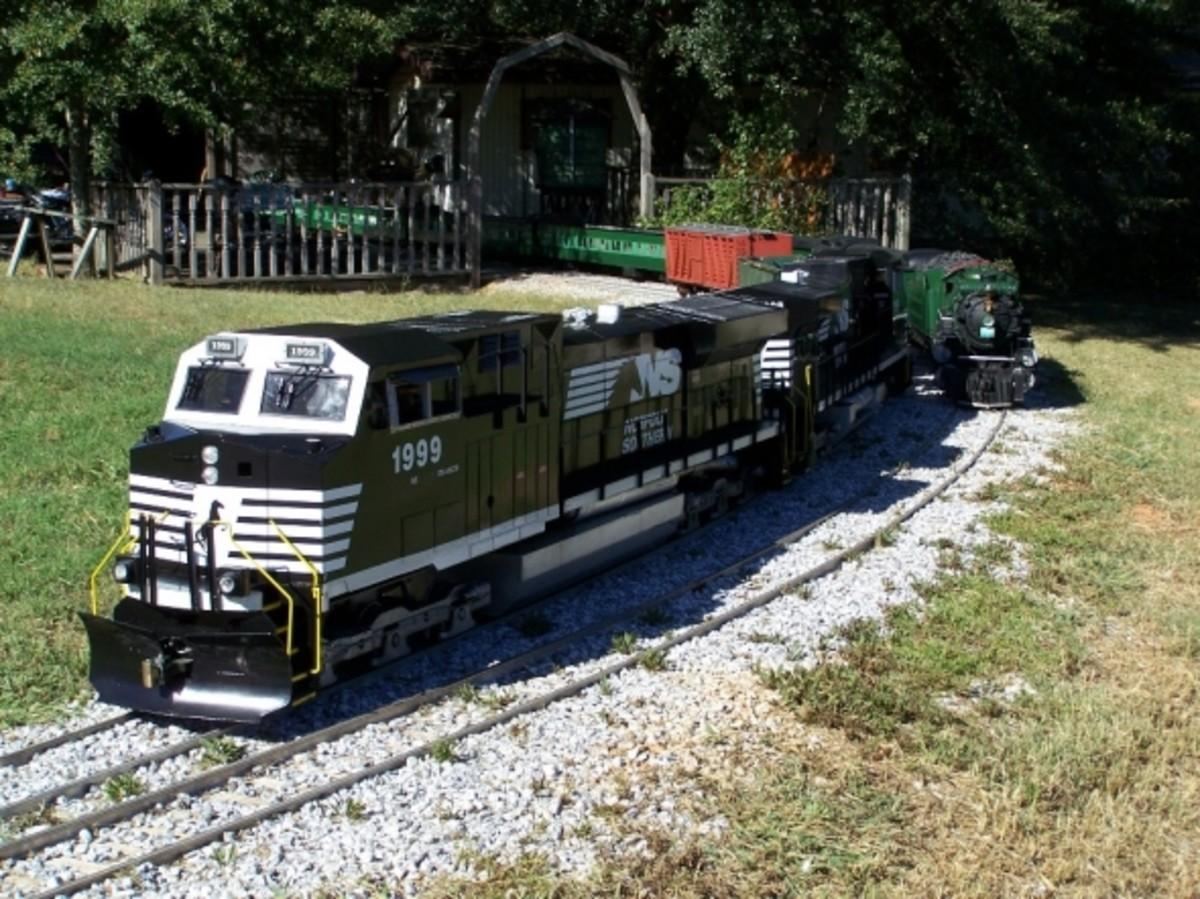 Dash 9 Diesel Locomotives