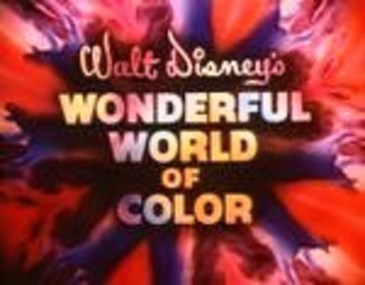 Walt Disney's TV show began with this logo.