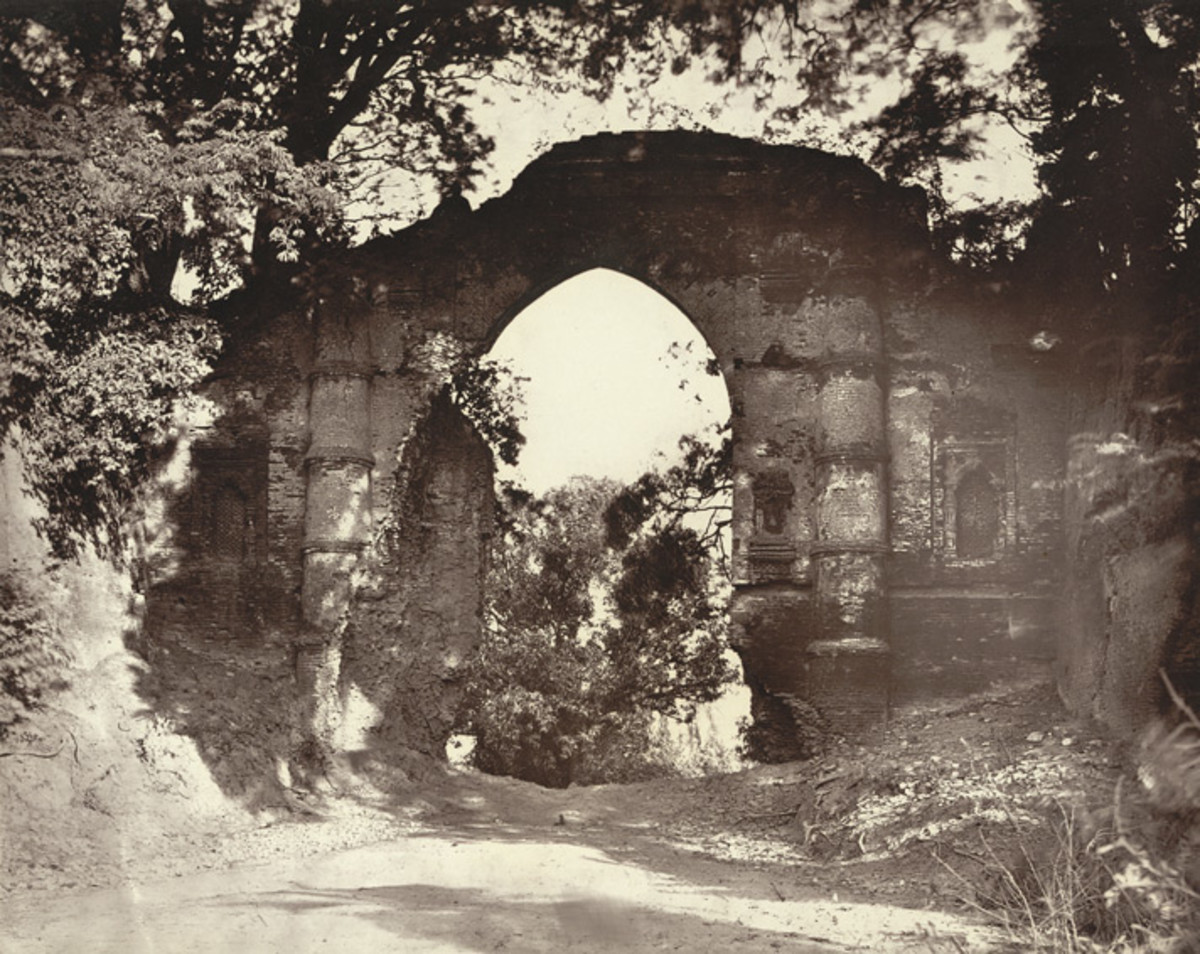 The Kotwali Gate in the 1860s by John Henry Ravenshaw