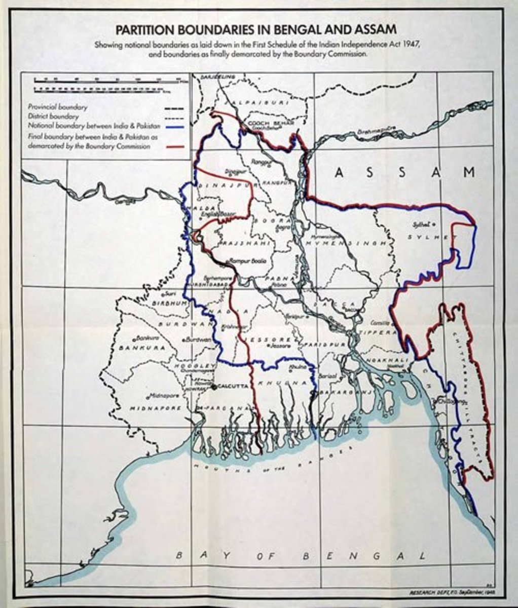 Bengal Partition, 1905