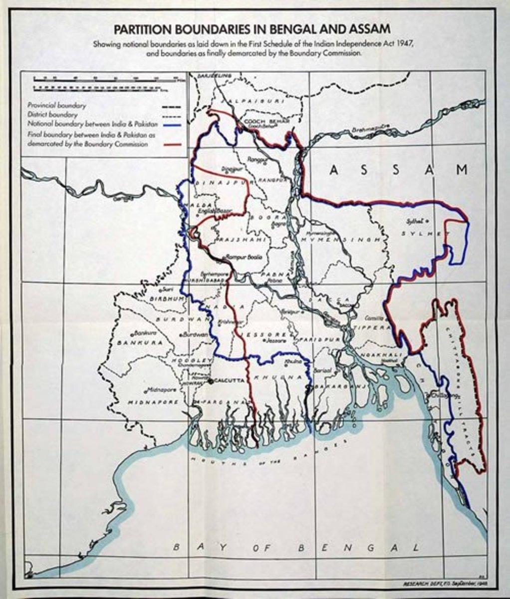 Bengal Partition, 1905
