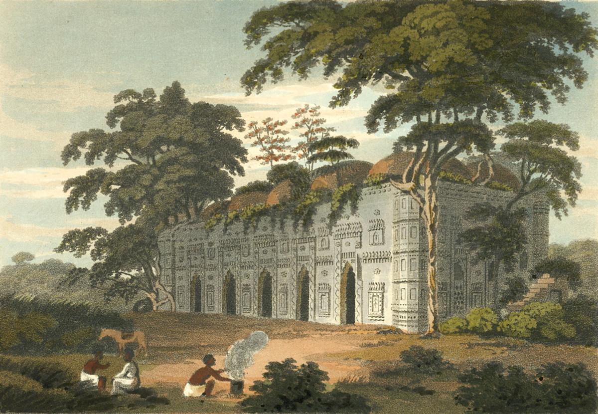 Chhoto Shona Mosque, 1817
