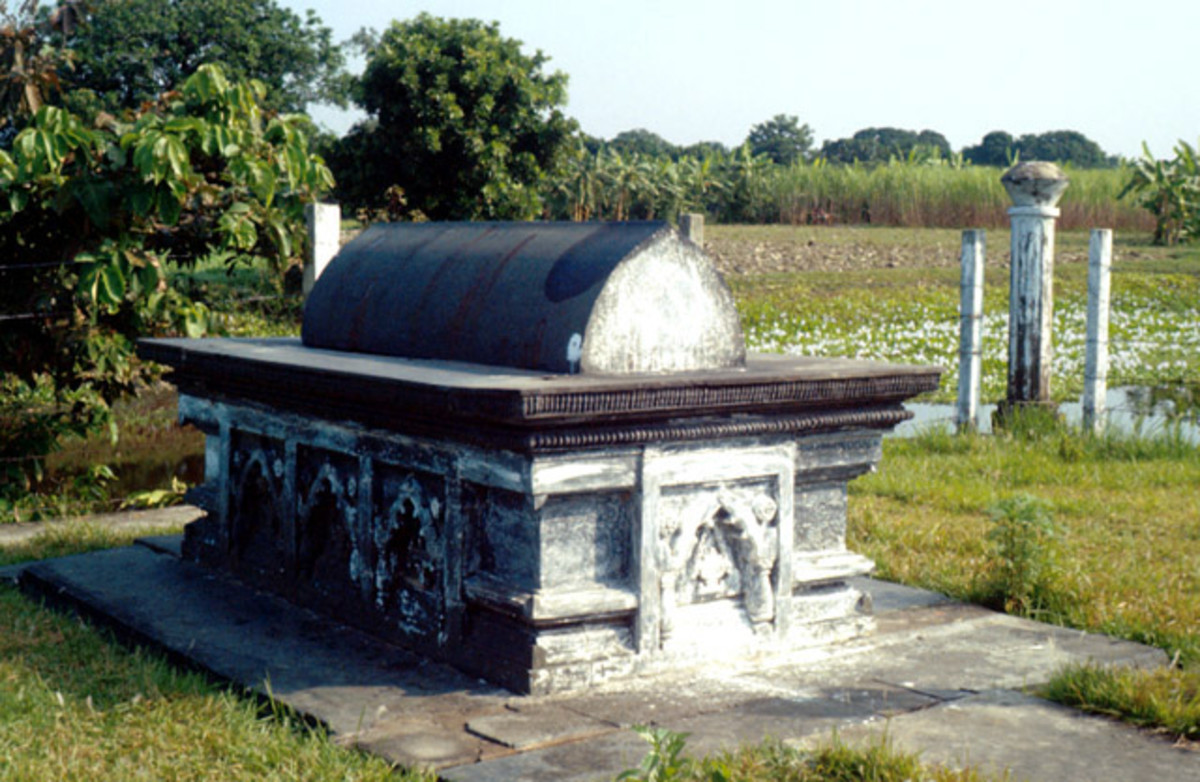 Tomb of Gyas-ud-din Azam Shah, The Ruler of Independent Bengal