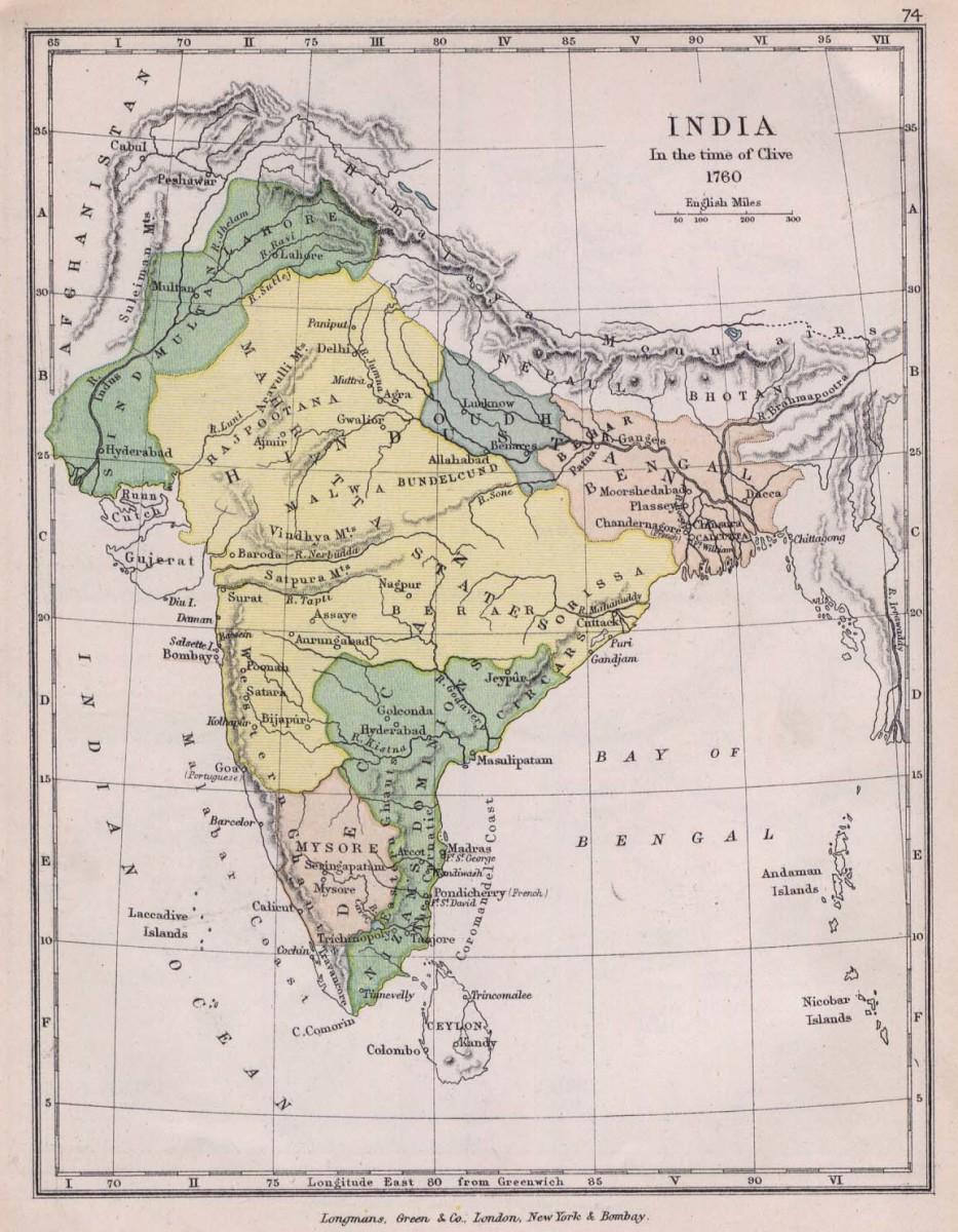 Bengal, 1760