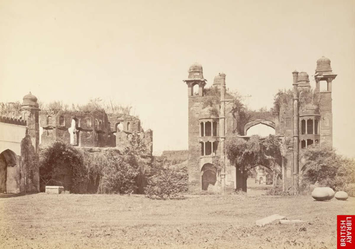 The Main Gate, 1870s