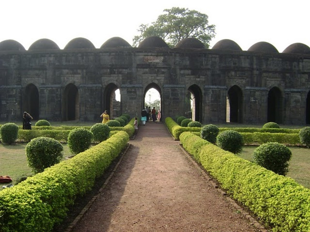 Boro sona Masjid (recent pic)