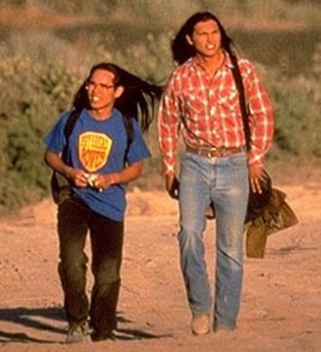 The movie Smoke Signals was based on the stories in The Lone Ranger and Tonto Fistfight in Heaven