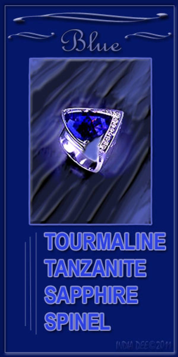 Preciouse Blue Stones, High Quality Blue Jewelry