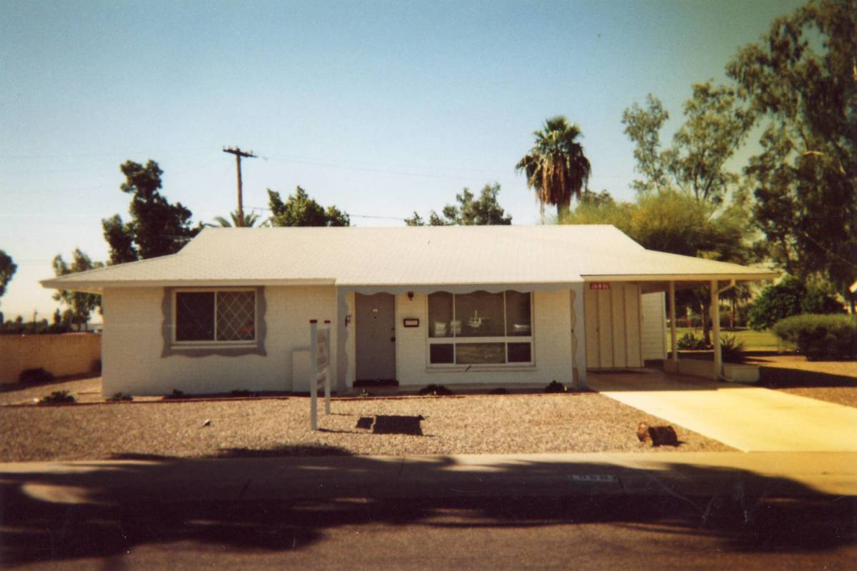 The tiny Kentworth House in Sun City Arizona that changed retirement.