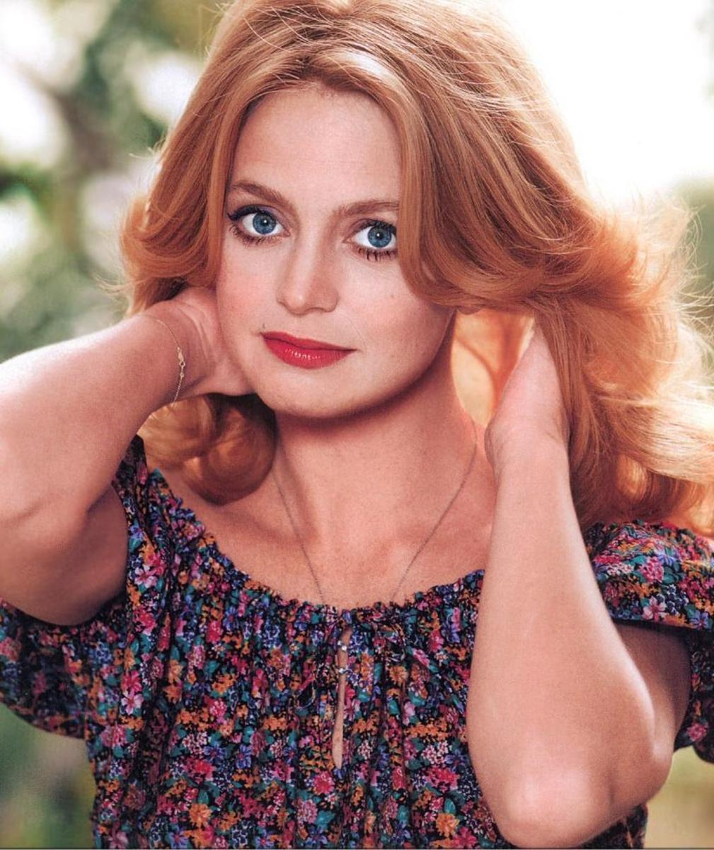 Goldie Hawn was one of the most popular actresses in the 70's and into the 80's.