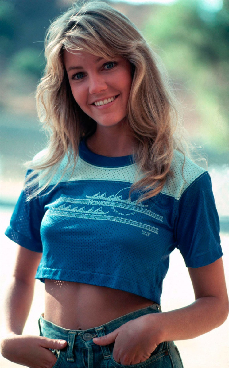 Heather Locklear shot to stardom in the 80's starring on T.J. Hooker and Dynasty.