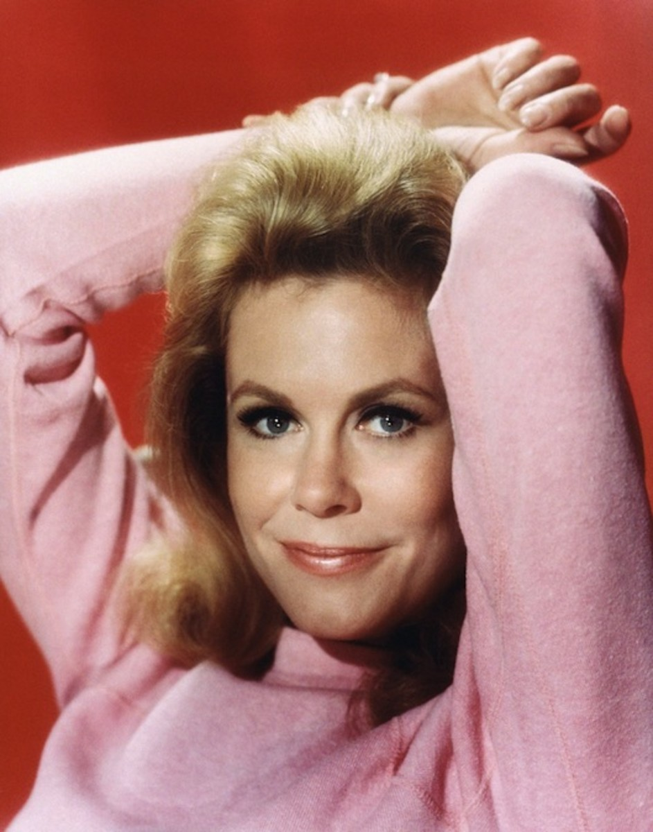 Elizabeth Montgomery was the star of the popular 1960s series, Bewitched.