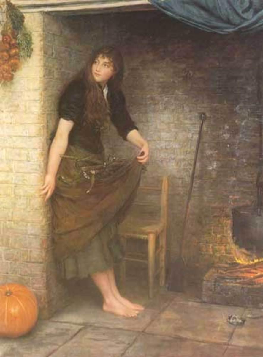 """""""Cinderella"""" (1899) Valentine Cameron Prinsep"""